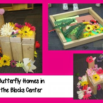 Butterfly Study:  Math, Fine Motor, and a Bulletin Board