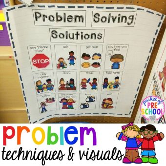 Problem Solving with Little Learners (preschool, pre-k, and kindergarten)