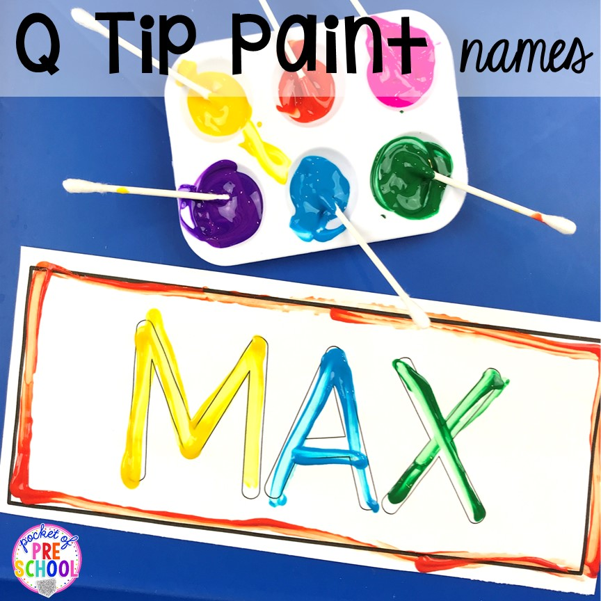 FREE Name mats to teach student's his/her names! Perfect for preschool, pre-k, and kindergarten. #preschool #pre-k #backtoschool #namecards