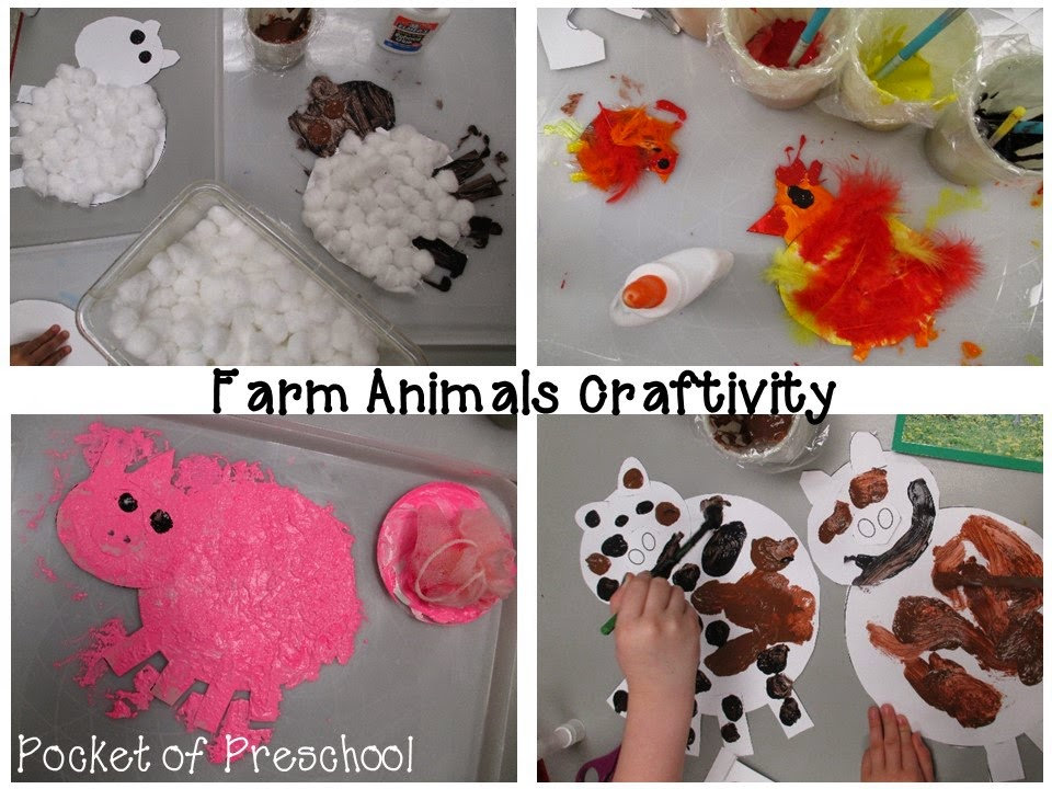 Pictures of farm animals for preschoolers
