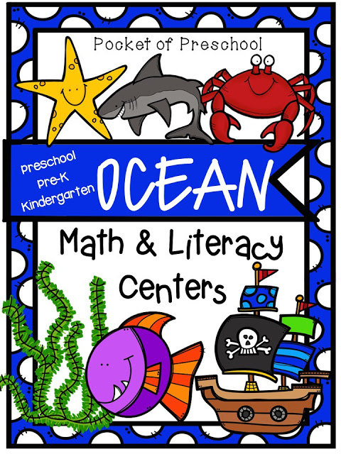 Ocean Centers Shark Freebie Too Pocket Of Preschool