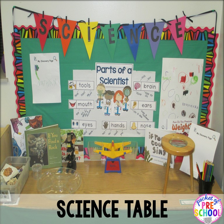 Designs Science Center: Classroom Reveal And A FREEBIE