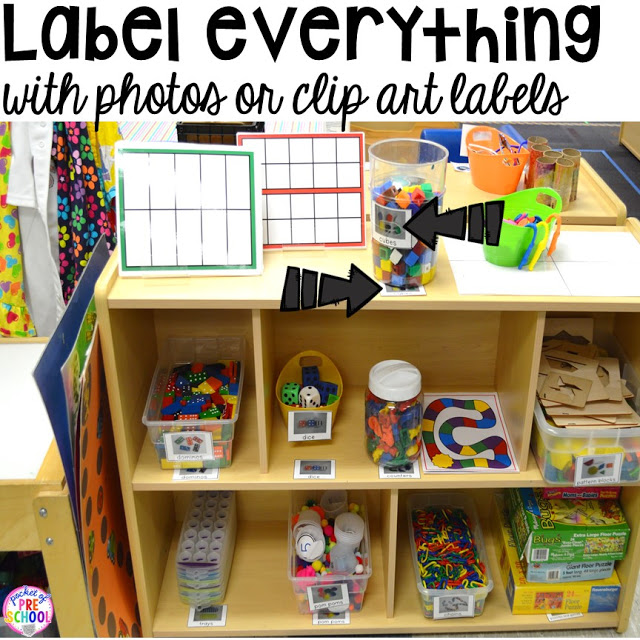 Kitchen Center Clip Art: How To Set Up The Math Center In An Early Childhood