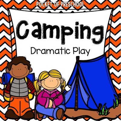 picture regarding Free Printable Camping Signs called Tenting Extraordinary Participate in - Pocket of Preschool