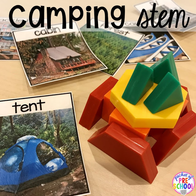 camping projects for preschoolers camping centers and activities pocket of preschool 244