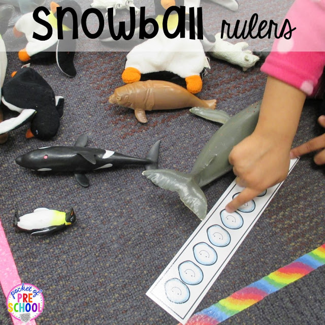 Snowman at Night FREEBIE plus my go to Winter themed math, writing, fine motor, sensory, reading, and science activities for preschool and kindergarten.