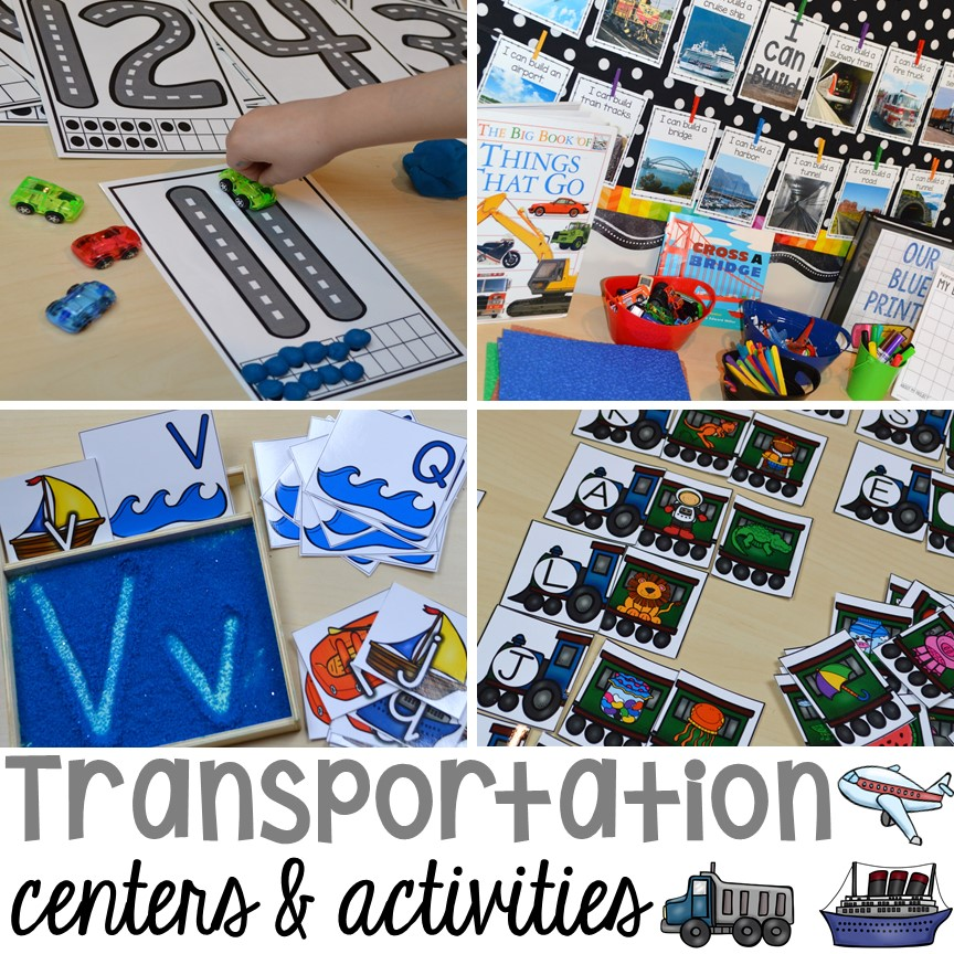 Preschool Water Transportation Crafts