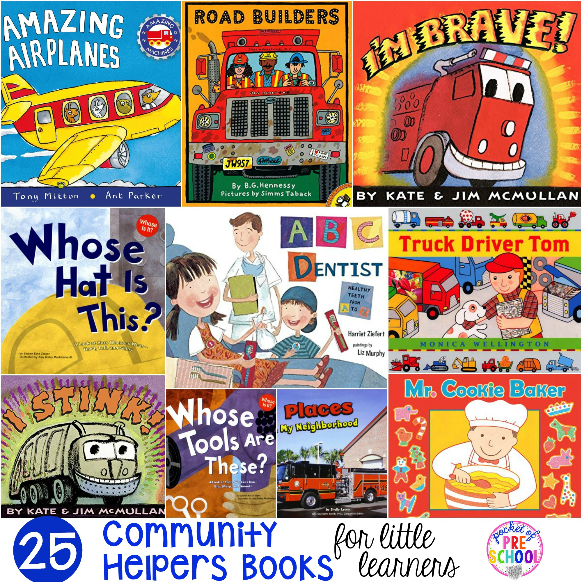 Community Helpers Books for Little Learners - Pocket of ...