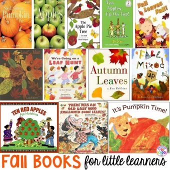 Fall Books for Little Learners