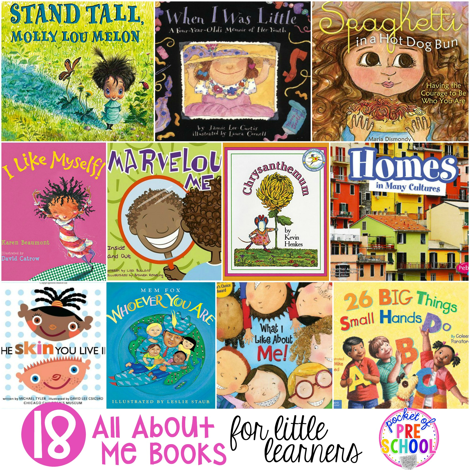 Book Cover School Near Me : All about me books for little learners pocket of preschool
