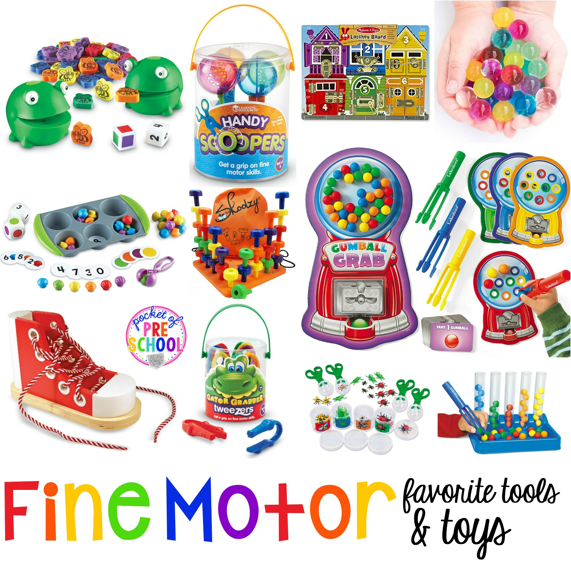 Toys For Kindergarten : Favorite fine motor tools toys for preschool