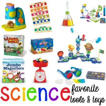 Favorite Science Tools and Toys - Pocket of Preschool