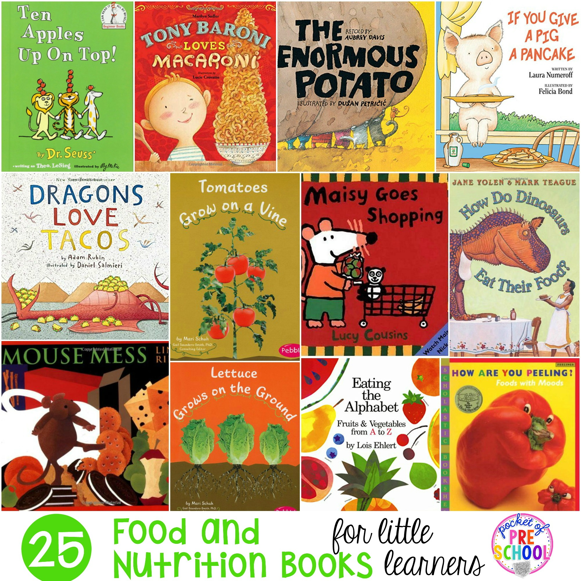 books preschool food and nutrition books for learners pocket of 502