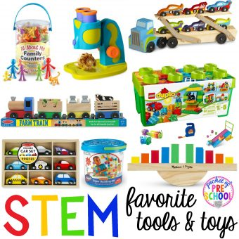 Favorite STEM Tools and Toys - Pocket of Preschool