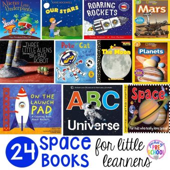 Space Books for Little Learners