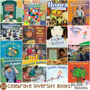 Celebrate Diversity Books for Little Learners - Pocket of Preschool