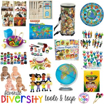Favorite Diversity Tools and Toys for Preschool and Kindergarten