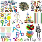 Favorite Light Table Tools - Pocket of Preschool
