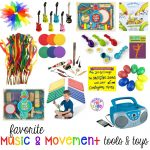 Favorite Music and Movement Tools and Toys for Preschool and Kindergarten - Pocket of Preschoo