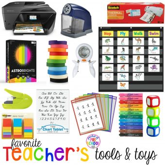 Favorite Teacher's Tools for Preschool & Kindergarten - Pocket of Preschool