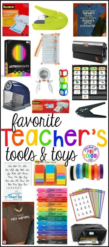 My favorite teacher tools all preschool, pre-k, and kindergarten teachers need to teach your little learners effectively (plus save you time, money, and energy!
