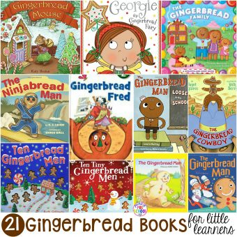 Gingerbread Books for Little Learners - Pocket of Preschool