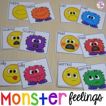 Monster Feelings Match Up