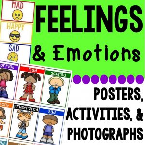 Feelings and Emotions pack has everything you need to teach your students all about feelings and emotions.