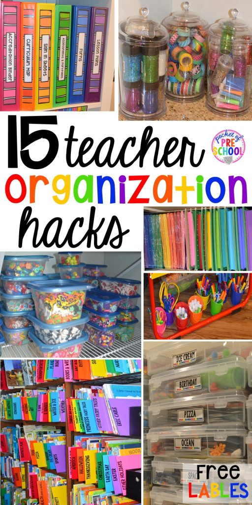 Classroom Decor Hacks : Classroom organization hacks pocket of preschool