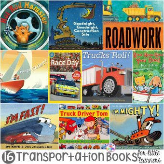 Transportation Books for Little Learners - Pocket of Preschool