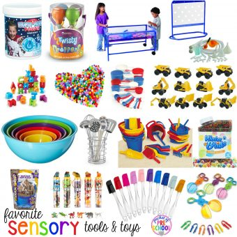 Favorite Sensory Tools and Toys for Preschool and Kindergarten - Pocket of Preschool