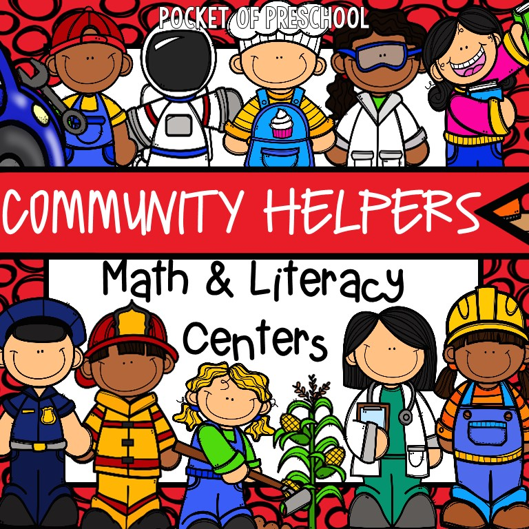 Community Helpers Activities and Centers for Preschool and ...