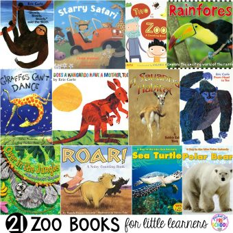 Zoo Books for Little Learners - Pocket of Preschool