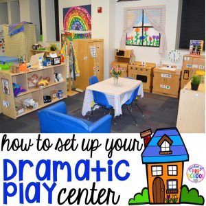 How to set up the dramatic play center in an early childhood classroom.