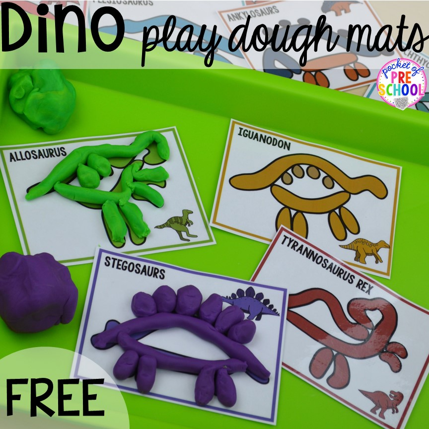 Dinosaur Themed Activities Amp Centers For Little Learners