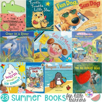 Summer Books for Little Learners - Pocket of Preschool