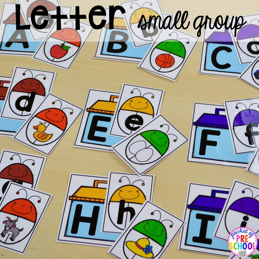All About Small Group Time - FREE Printable Idea List ...