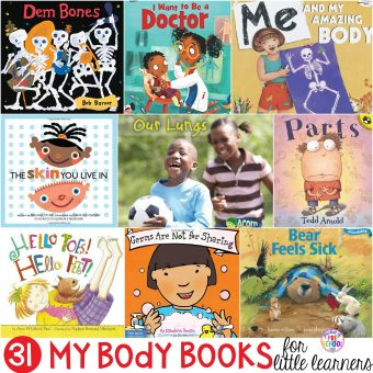 Me and My Body Books for Little Learners - Pocket of Preschool