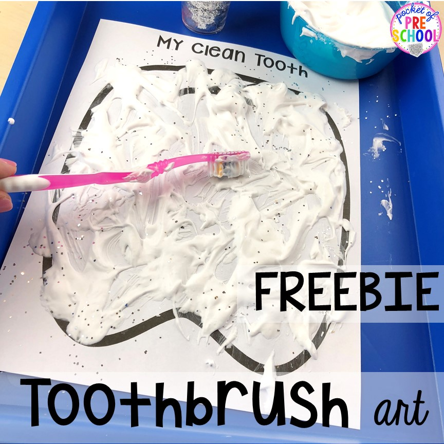 Dental Health Themed Activities and Centers - Pocket of ...