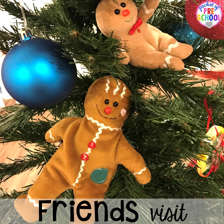 Gingerbread or Elf hack! Holiday hacks for the classroom (preschool, pre-k, kindergarten and elementary) to make the holidays less stressful in the classroom. #holidayhacks #teacherhack #preschool #prek