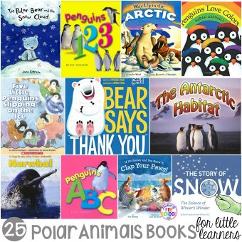 Polar Animals Books for Little Learners - Pocket of Preschool