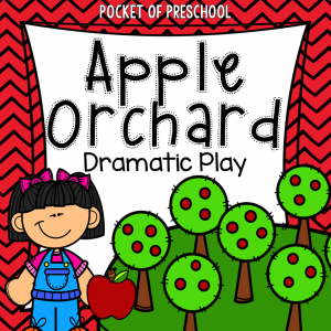 Apple Orchard Dramatic Play - All the printables you will need plus tons of classroom photos to help inspire you too.