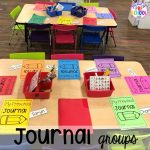 How to implement journal time and journal time ideas for little learners (preschool, pre-k, kindergarten) #prechool #prek #kindergarten #journals