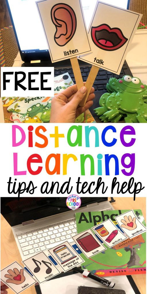 Distance learning tips and FREEBIES plus Zoom Tricks you NEED right now. Flip teh screen, pretty filer and more.