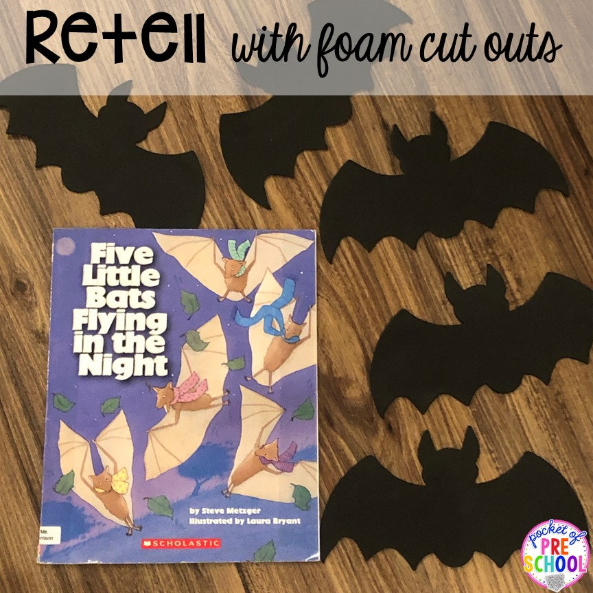 Retell stories with felt cut outs during circle. Read aloud and circle time ideas to make it fun and engaging. #circletime #readaloud #retelling #preschool #prek #kindergarten