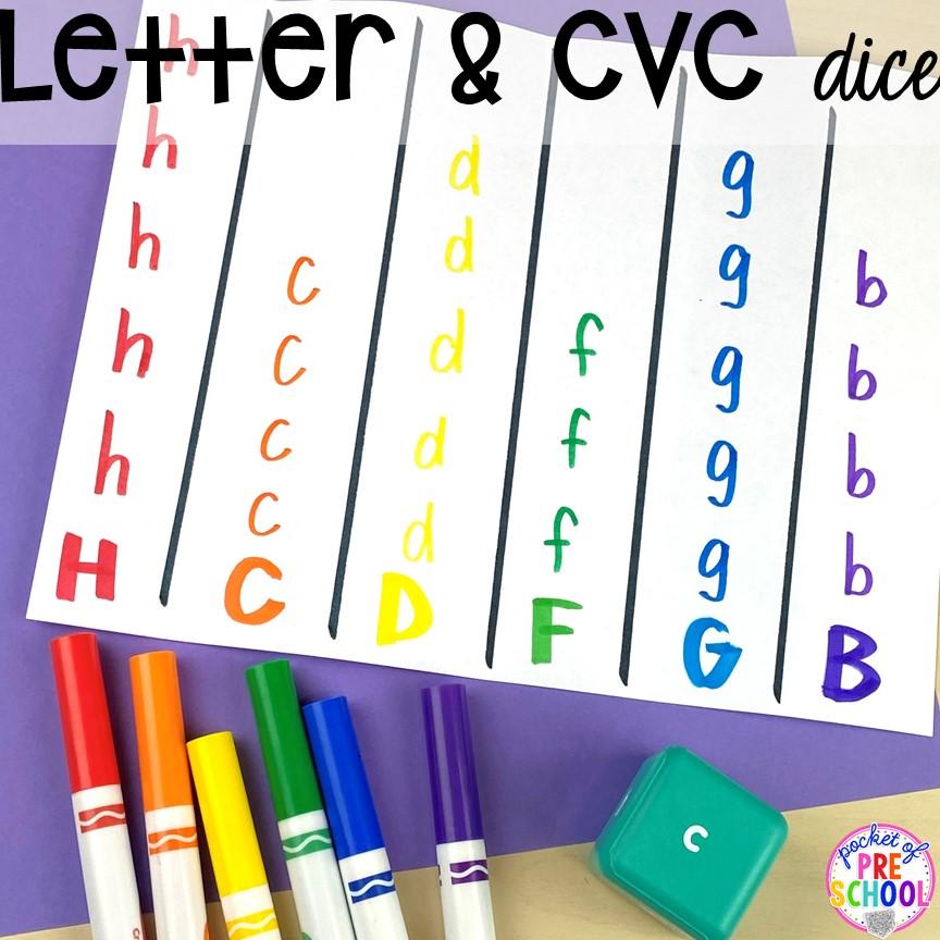 Favorite Lakeshore lliteracy activities and toys for preschool and prek. #lettergame #preschool #prek