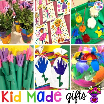 Top 10 Kid made gifts for Mother's Day, Father's Day, Grandparent's Day, and Christmas. #kidmadegift #mothersdaygift #fathersdaygift