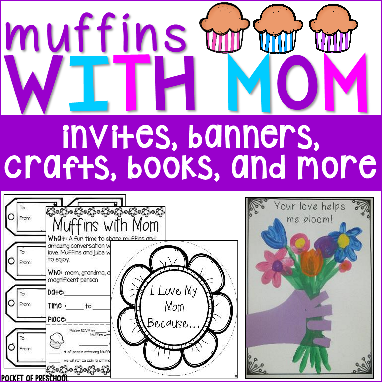 Muffins with Mom and Muffins in the Morning classroom event!