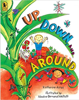 Positional Words Book List for preschool, pre-k, and kindergarten. Perfect for math units and English language learners. #booklist #mathunit #positionalwords #englishlanguagelearners #ell
