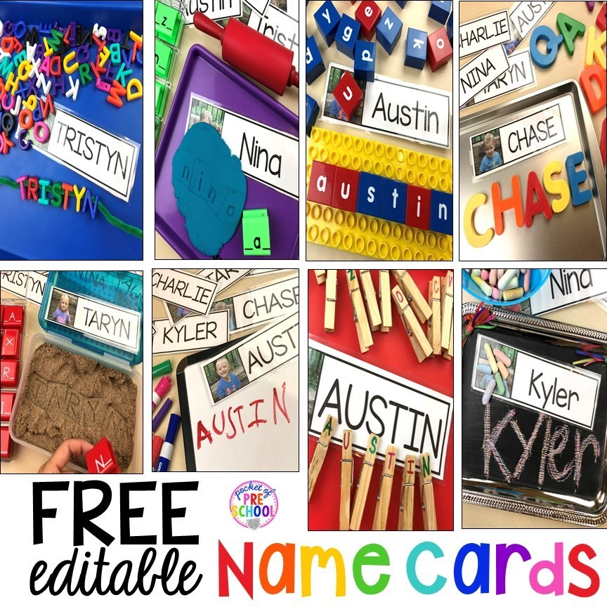 Name activities plus tons of all about me activities for back to school. Perfect for preschool, pre-k, or kindergarten. #allaboutme #diversity #backtoschool